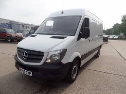 mercedes benz sprinter 314cdi mwb high roof euro 6 panel van