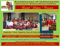 african catholic ministry retreat tickets sat aug 26 2017 at 8