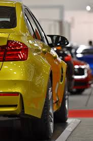 Bmw M3 Yellow 2016 - austin yellow m3 u0026 yas marina blue m4 at dallas auto show