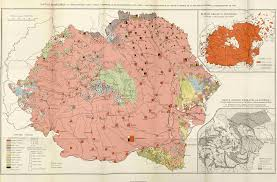 Romania Map Ethnic Map Of Greater Romania Based On The Census Of 1930