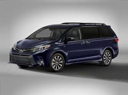 toyota car information 2018 toyota sienna models trims information and details