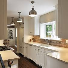 what is the best lighting for a galley kitchen kitchen light design ideas pictures remodel and decor