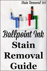 upholstery stain removal ballpoint ink stain removal guide removing pen stains ink stain