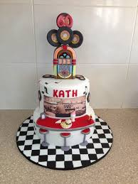 60 u0027s rock n roll diner cake by cakesbycorrina cakesdecor