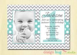 1st Year Baby Birthday Invitation Cards One Year Old Birthday Invitations Ajordanscart Com