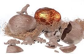 chocolate dinosaur egg sir anthony dinosaur egg with chocolate dinosaurs