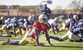 Quenton Nelson Bench Press Wr Corey Holmes Leads List Of Notre Dame Spring Surprises Notre
