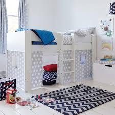 Paddington Mid Sleeper Bed With Grey Star Play Den All - Paddington bunk bed