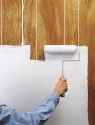 how to paint wood paneling bob vila