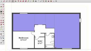 sketchup architectural floor plan tutorial youtube