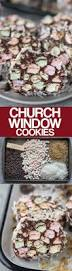 church windows a classic no bake christmas cookie made with mini