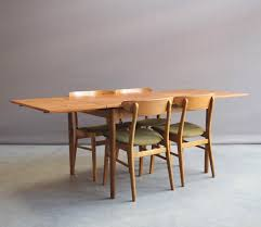 vintage dining table with four chairs from farstrup mbler dining