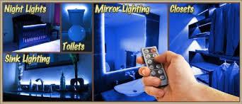 Blue Bedroom Lights 3 3 Ft Blue Bedroom Dresser Headboard Led Lighting Dimmer