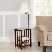 Vintage Retro Floor Lamp Furniture Floor Lamp With Toughened Glass Top Table And Built In
