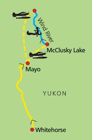 Map Of Yukon The Heart Of The Yukon Wind River U2013 Ruby Range Adventure