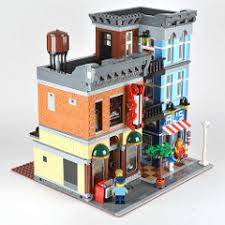 lego office review 10246 detective s office brickset lego set guide and