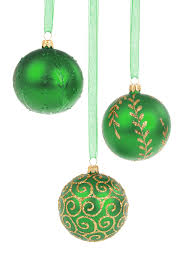 green u0026 gold christmas baubles by petr kratochvil are perfect