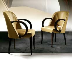 Art Deco Armchair Art Deco Macassar Ebony Dining Armchairs Leather Taylor