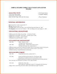 exle of simple resume format basic resume format exles paso evolist co