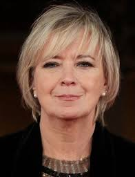 short blonde hairstyles for older women with bangs for thin and