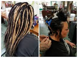 hairstyles after dreadlocks 58 best before after dreadlocks by g spot hair design images on