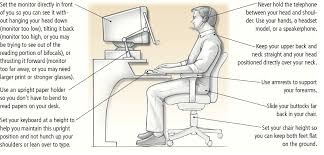 Computer Desk Posture What Are The Best Ergonomics To Help Reduce My Neck While At