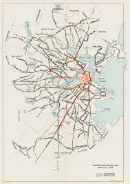 Mbta Map Boston by Boston Elevated Railway Wikipedia