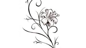 flower tattoo drawings drawing pencil