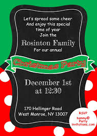 christmas cookie party invitations kids and family christmas party invitations new for 2017