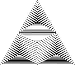 25 beautiful triangle ideas on pinterest geometric triangle