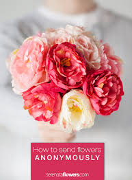 sending flowers online how to send flowers anonymously