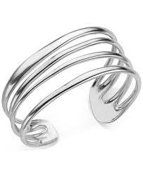 cuff bracelet sterling images Namb multi band cuff bracelet in sterling silver all fine tif