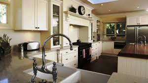kitchen wooden painted kitchen chairs kohler industrial faucet