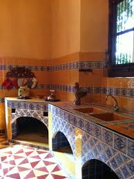Mexican Kitchen Ideas Casa Mexicana Tile Home Improvement Design And Decoration