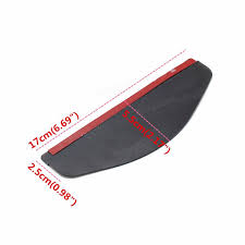 Exterior Door Rain Deflector by Car Door Side Rear View Wing Mirrors Rain Visor Guard Weather