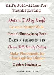 7 kid s activities for thanksgiving the whole family will