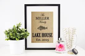 gift ideas for lake house