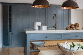 kitchen showrooms island industrial shaker showroom copper taps oak worktops and kitchen