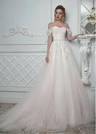 detachable wedding dress straps buy discount fascinating tulle the shoulder neckline a line