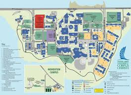 Where Is Mexico On The Map by Campus Map Texas A U0026m University Corpus Christi