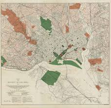 Washington Dc National Mall Map by 1902 Mcmillan Report Resources National Mall Coalition