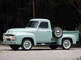 Ford Vintage Truck - 1954 ford f 100 color sample pinterest ford ford trucks and