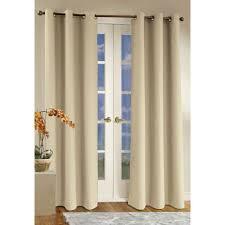 glass door broken long broken white fabric curtain on thek steel pole for glass door