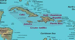Puerto Rico Island Map by Puerto Rico Lessons Tes Teach