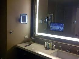 Mirror Tvs For Bathroom Check Out The Tv In The Mirror Picture Of Omni Dallas Hotel