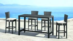 Bar Height Patio Chair Patio Bar Furniture Bemine Co
