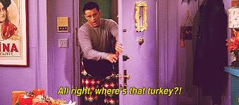thanksgiving 2014 what phoebe chandler joey and