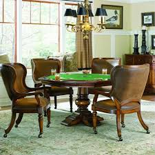 Poker Table Chairs Paradisehomefurniture