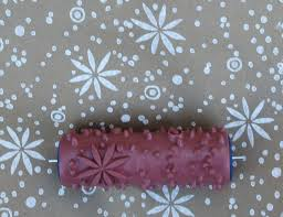 pattern paint rollers home design patterned paint roller kit