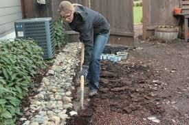 Rock Borders For Gardens Mavis Garden Removing A Rock Border One Hundred Dollars A